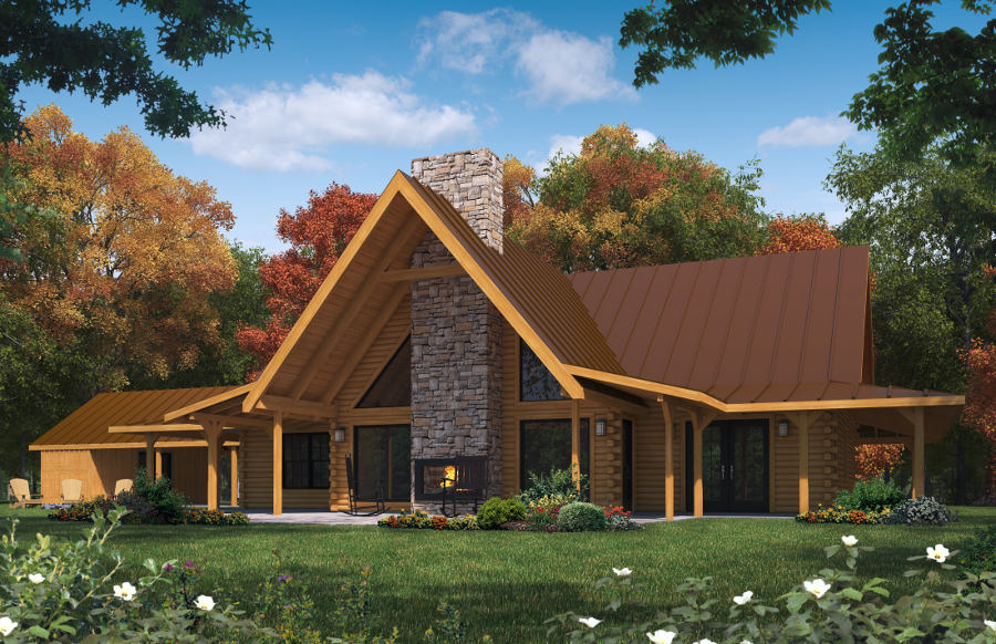 One Story One Bedroom House Plans