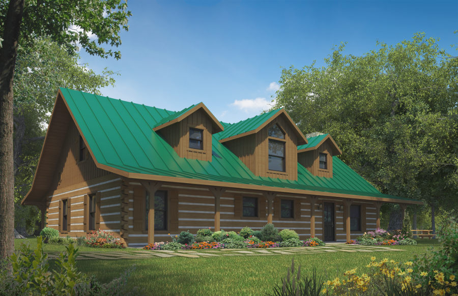 3 Bedroom Timber Home Floor Plans